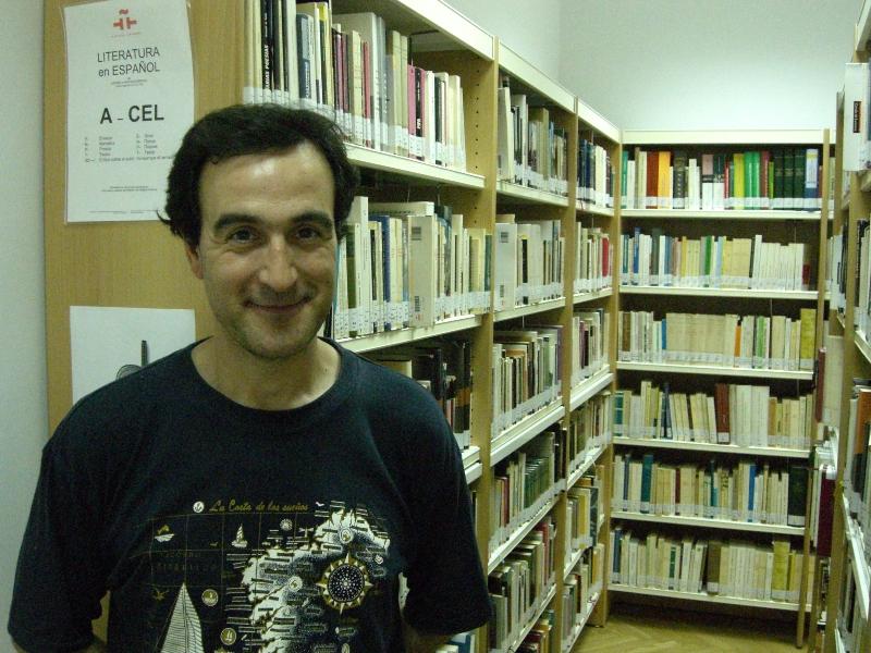 Bibliotecario en Moscú