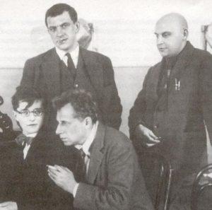 Maiakovski, Rodchenko, Shostakovich y Meyerhold
