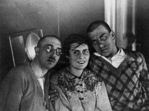 Osip, Lili y Volodia