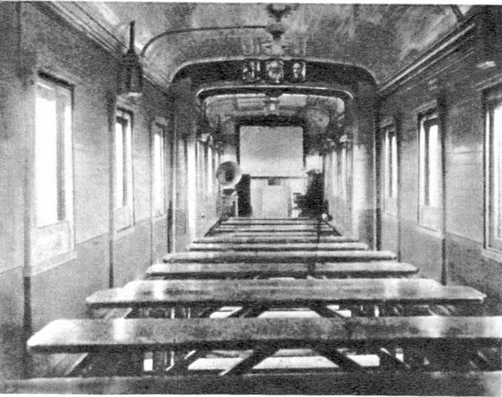 Vagón de cine del tren Revolución de Octubre