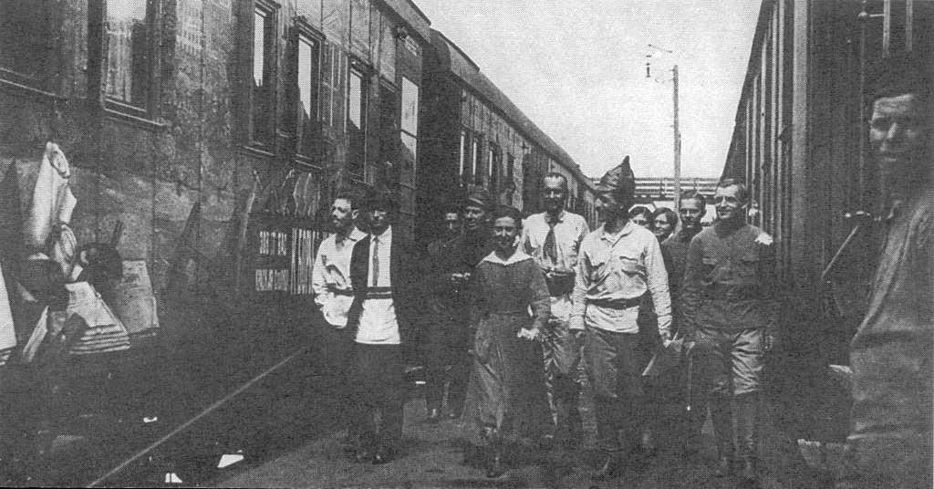 El tren de agitación Cáucaso soviético