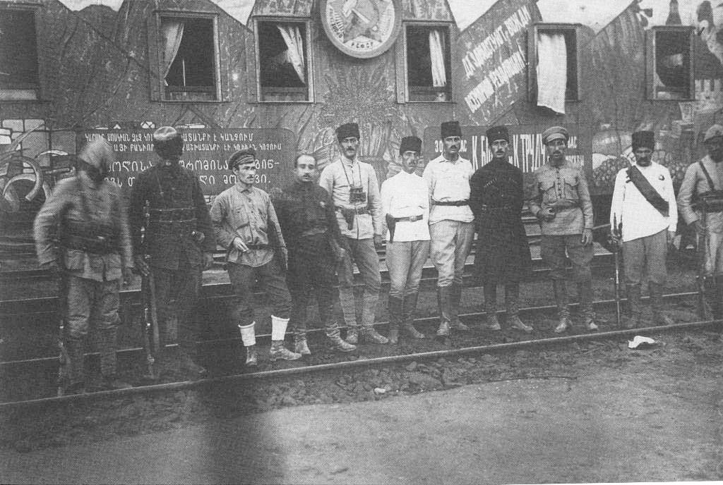 Tren de agitación El Cáucaso soviético