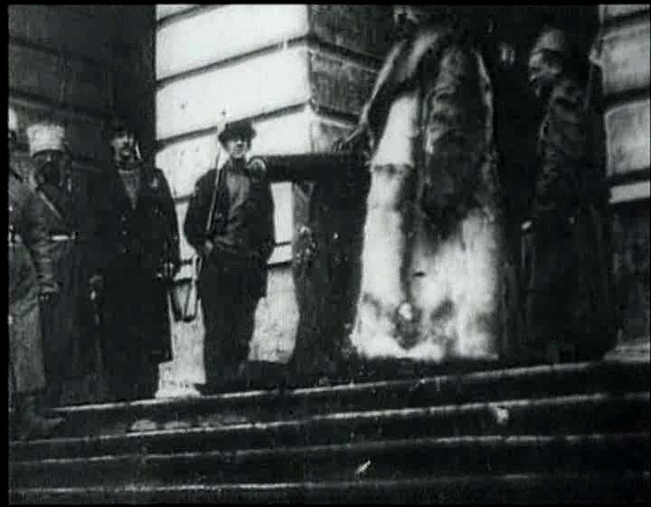 Smolny en octubre de 1917