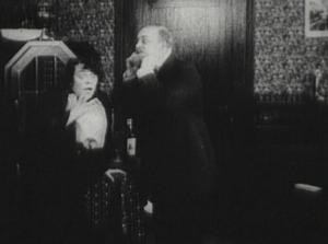 Escena de la película de N. N. Breshko-Breshkovski Vera Chibiriak o, El proceso Beylis