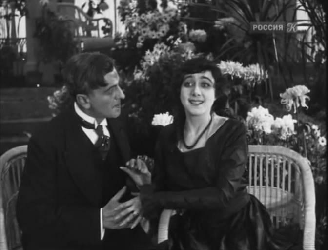 La felicidad de la noche eterna (1915).