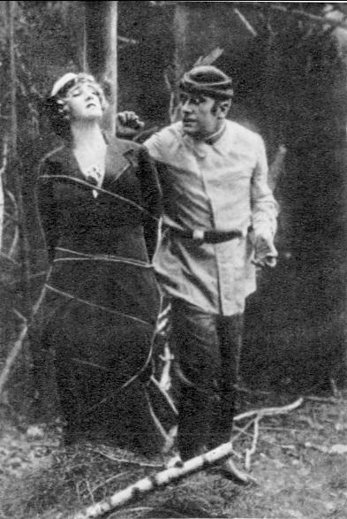 La hechicera (1916).