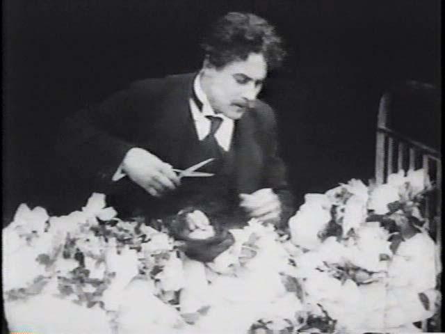 El acto III de Robert, le Diable en la película Ensoñaciones (1915)