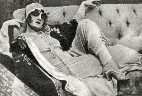 Uno de los personajes de la obra de teatro.