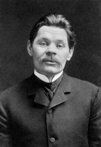 Gorki en 1906, el año que escribió La madre