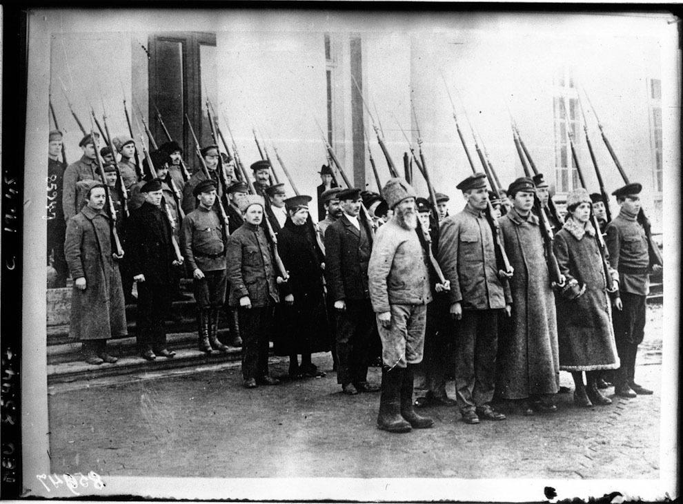 Rusia, 1918